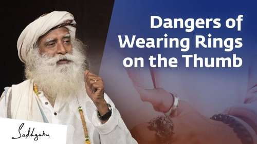 Occult forces can affect you if you wear thumb rings