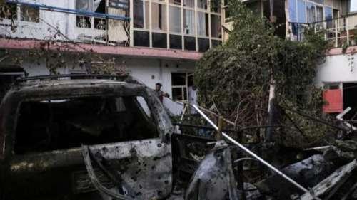 US, Taliban say drone strike hits car bomb headed for Kabul airport