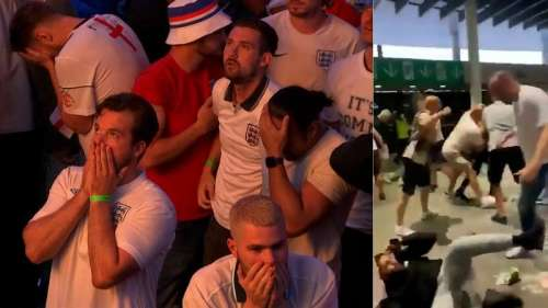 From joy to rioting: English fans' emotional roller coaster Euro ride