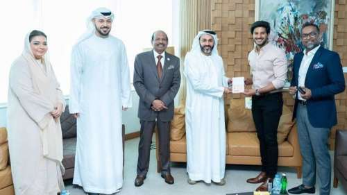 Dulquer Salmaan receives UAE's Golden Visa after father Mammootty