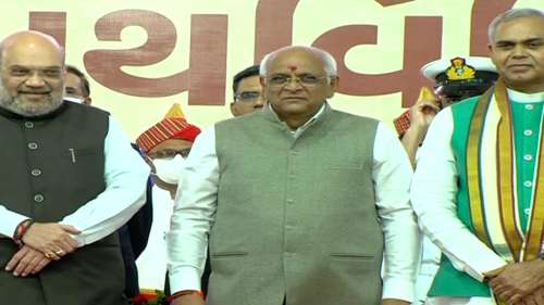 Gujarat: Bhupendra Patel takes oath as CM, Amit Shah attends ceremony