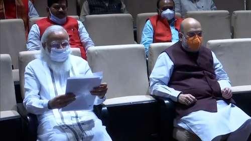 PM on Congress: मोदी का कांग्रेस पर तंज, कहा-तीन राज्यों में हारकर भी नहीं खुली नींद