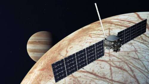 Musk's SpaceX selected for Jupiter Mission by NASA