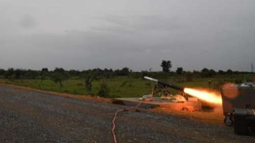 DRDO successfully test-fired homegrown anti-tank guided missile