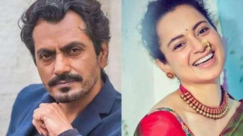 'One of the best actors in the world': Kangana Ranaut congratulates Nawazuddin Siddiqui for Emmy nod