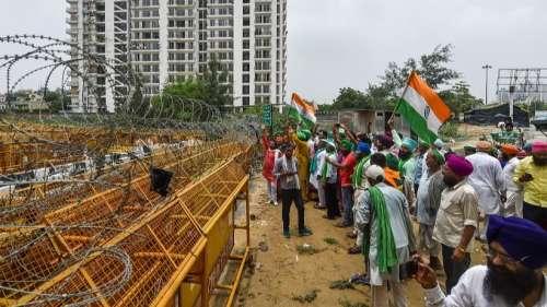 Delhi police tightens security at Jantar Mantar ahead of farmers' protest