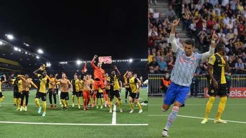 Champions League: Ronaldo scores but Young Boys stun Manchester United 2-1