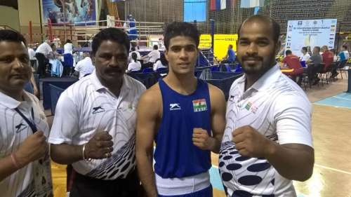 Boxer Akash wins National title, unaware of a massive personal tragedy