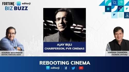 On Biz Buzz | Movie man Ajay Bijli of PVR makes the case for cinema vs OTT