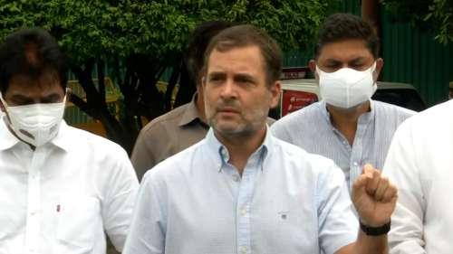 Rahul Gandhi बोले मेरी भी हो रही है टैपिंग, BJP बोली- आपके फोन में कुछ ओरिजिनल नहीं, क्यों होगी टैपिंग