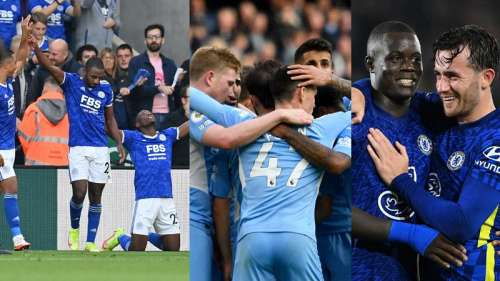 Premier League: Manchester United go down to Leicester, City and Chelsea win