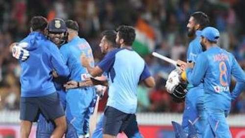 सुपर ओवर में भारत की रोमांचक जीत, न्यूज़ीलैंड में जीती पहली T20 सीरीज़