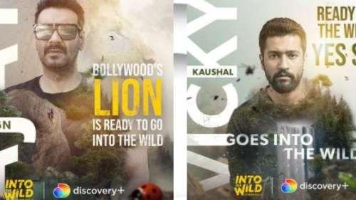 Into The Wild With Bear Grylls: अजय देवगन-विक्की कौशल ने पूरी की शूटिंग, सामने आया पोस्टर