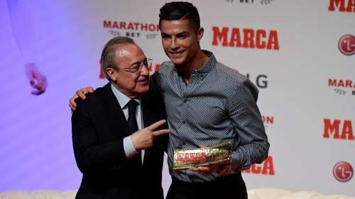 Ronaldo is 'idiot, sick', says Florentino Perez in leaked audio clips