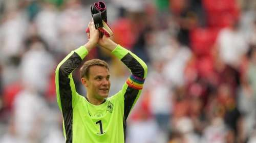 No UEFA action for Manuel Neuer's rainbow armband in Euro 2020
