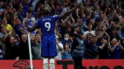 Lukaku finally scores at the Stamford Bridge as Chelsea beat Aston Villa 3-0