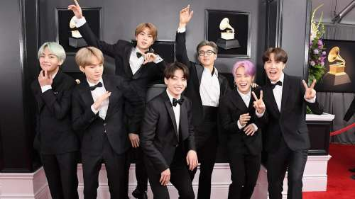 BTS to auction the outfits