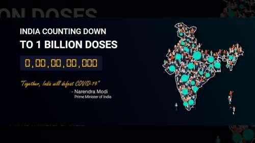 100 crore: India crosses historic milestone in Covid-19 vaccination