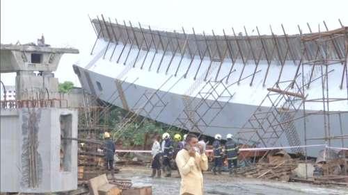 Mumbai: Part of under-construction flyover falls, 14 injured
