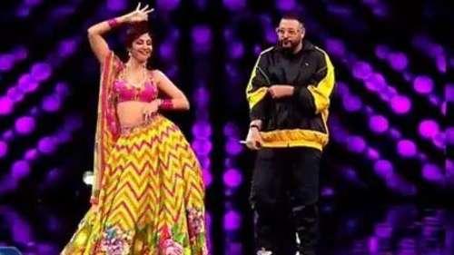 Shilpa Shetty और Badshah ने 'गेंदा फूल' पर किया जबरदस्त डांस, देखें वीडियो