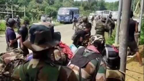 Assam Mizoram Border Row: मिजोरम सीमा पर असम ने तैनात किए 4 हजार सैनिक, तनाव कायम