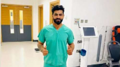 Jadeja suffers injury scare after 3rd Test, shares picture from hospital