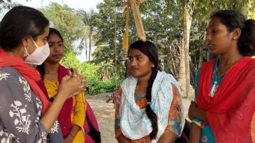 Young Girls Fight Child Marriage in Rural West Bengal   DataBaaz