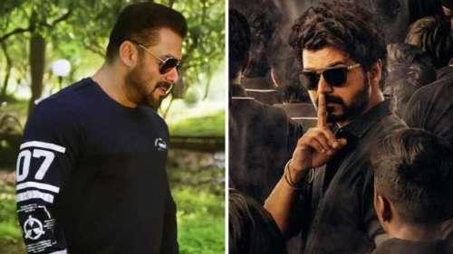Salman Khan to star in Hindi remake of Tamil film 'Master': reports