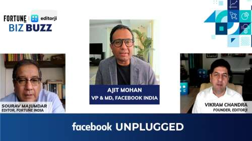 On Biz Buzz   Facebook India Chief on how to make money as a content creator