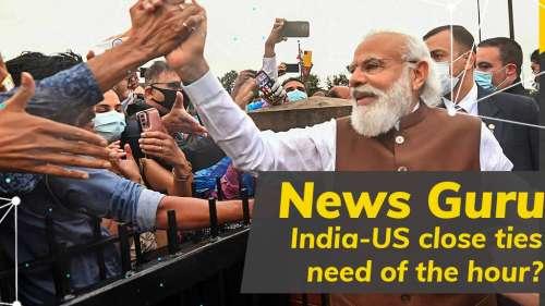 News Guru| PM Modi in US for Quad Summit: New fillip to US-India alliance?
