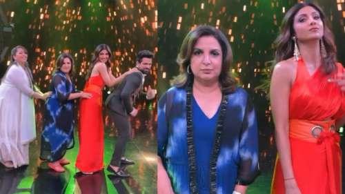 Super Dancer Chapter 4: सेट पर Shilpa Shetty ने किया Farah Khan के साथ डांस, फैंस ने की तारीफ