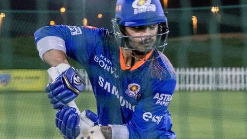 Mumbai Indians complete quarantine, begin training ahead of 2nd leg of IPL