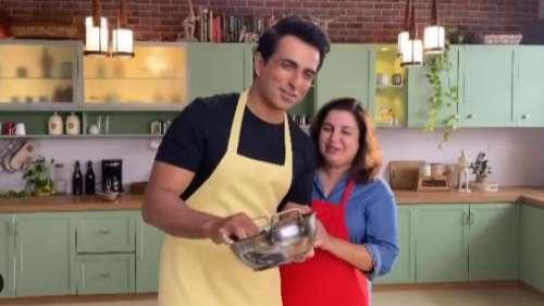 Sonu Sood से उनके बर्थडे पर फराह खान ने धुलवाए बर्तन, वायरल हो रहा ये मजेदार वीडियो