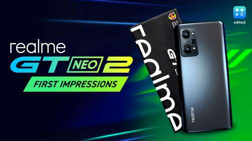 Realme GT Neo 2 first impressions: a beast of a phone!