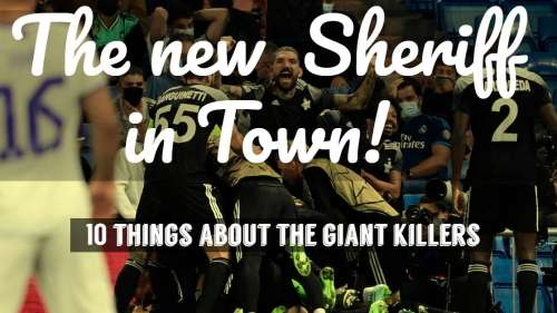 There is a new Sheriff in town! Who stunned Real Madrid in Champions League?