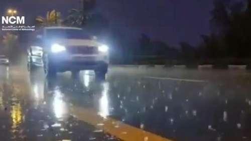 Watch: Dubai creates fake rain to beat the heat