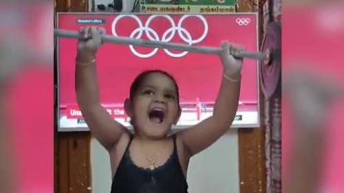 Tokyo Olympics 2020: 'So Cute' Mirabai Chanu reacts to video of her little impersonator