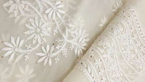 Embrace the beauty and history of Lucknow's beloved chikankari!