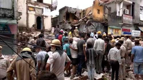 Delhi: Building collapses in Sabzi Mandi area, rescue operations underway