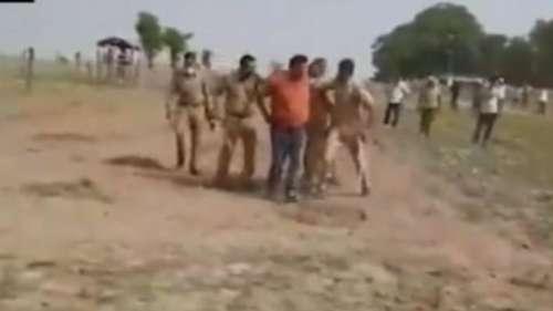 बलिया: पुलिस से बड़ी चूक, पकड़े जाने के बावजूद भाग निकला धीरेंद्र सिंह