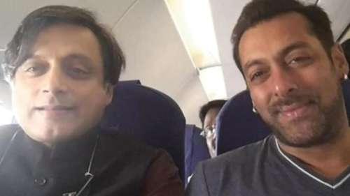 कांग्रेस नेता Shashi Tharoor को सलमान ने दिया था फिल्म का ऑफर, जानिए फिर नेता ने क्या कहा