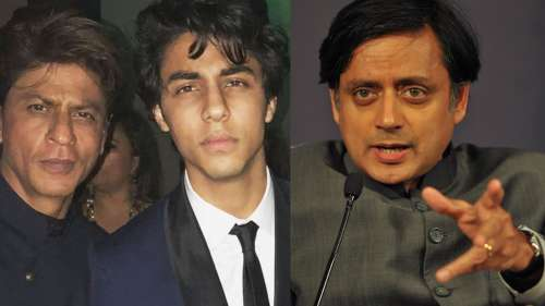 'Stop witch-hunting SRK, have empathy': Shashi Tharoor on Aryan's arrest in drugs case