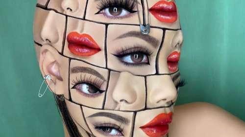 Illusion Makeup: चेहरे में चेहरा... देखिए ये कमाल का मेकअप