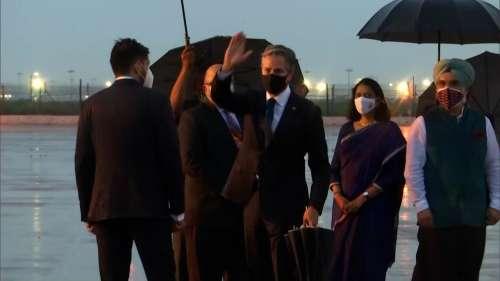 US Secretary of State Blinken arrives in India, to meet PM Modi on Wednesday