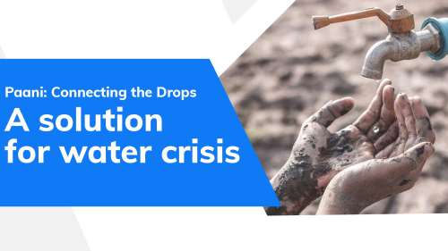 Paani: Connecting the Drops| Bringing water solutions to every home