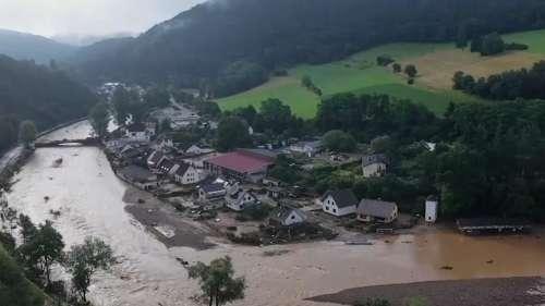 'मुसीबत का पहाड़ बनी बाढ़'