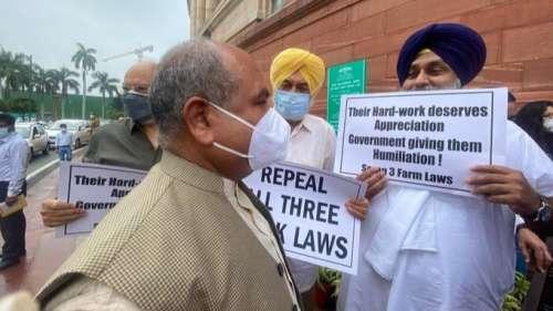 Farm Laws: कृषि कानूनों पर संसद में अकालियों ने सरकार को घेरा, तो किसान मोर्चा संसद मार्च की तैयारी में