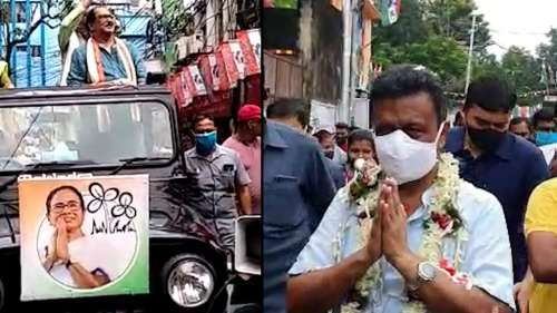 Bhawanipur by-election: রবিবাসরীয় প্রচারে ঝড় তুললেন সুব্রত-ফিরহাদ, লড়াই দেখছে না TMC