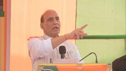 राजनाथ का कांग्रेस पर हमला, कहा- खुलासा कर दूं तो चेहरा छुपाना मुश्किल