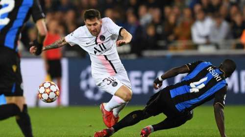 Champions League: Messi, Neymar & Mbappe fail to score as Club Brugge hold PSG to a draw